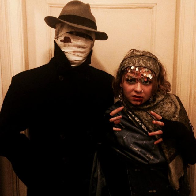 Happy Halloween!!!! halloween redbughome scary invisibleman fortuneteller