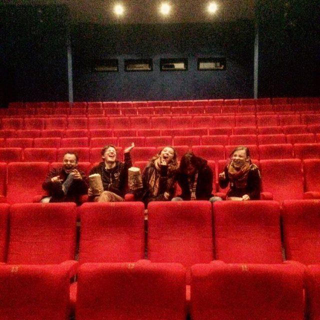 Ein leerer Kinosaal muss genutzt werden! Am Montag waren wirhellip