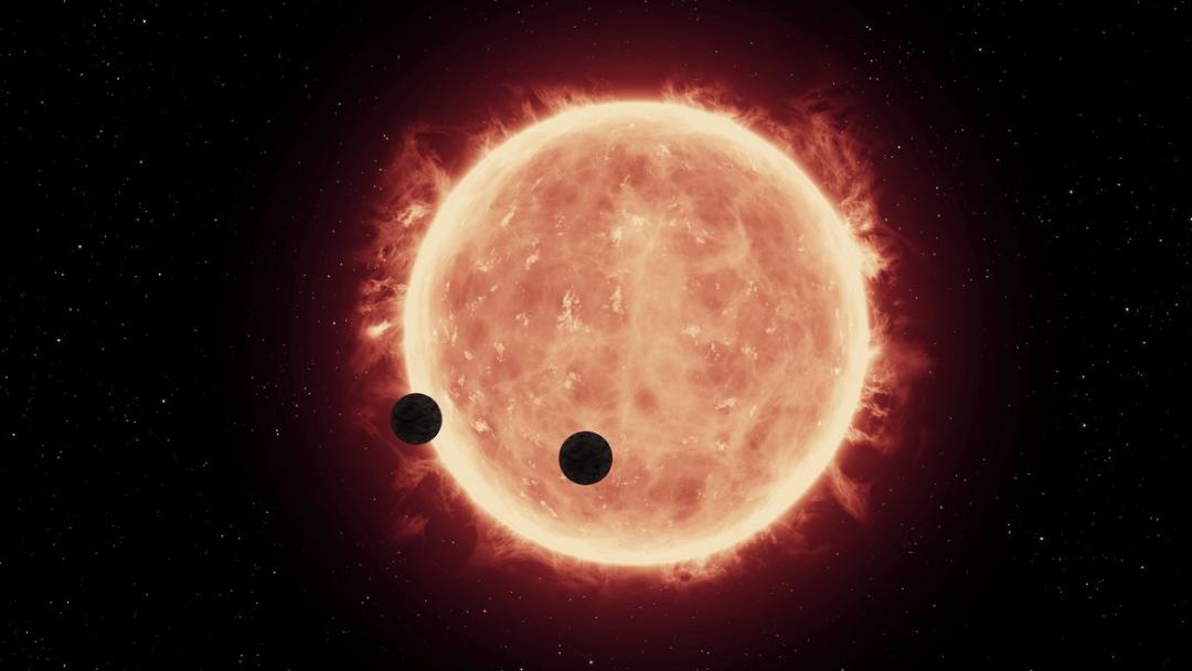 Erdähnliche Planeten umkreisen Trappist1